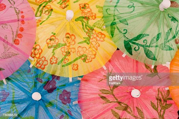 Assorted cocktail umbrellas