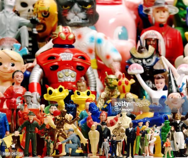 Assorted Dolls, Action Figures