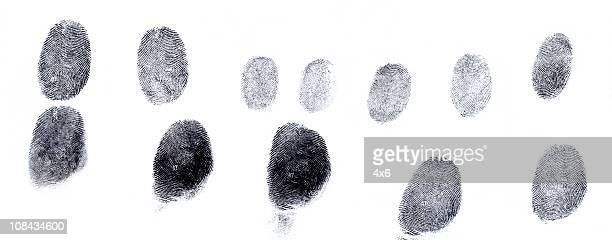 Assorted fingerprints
