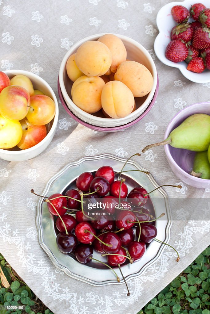 assorted fruits : Stock Photo