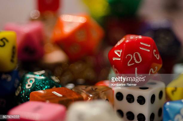 Assorted Gaming Dice