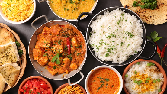 assorted indian dish 868408746
