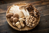 assorted japanese mushroom