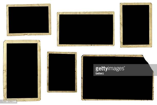 assorted photo frames