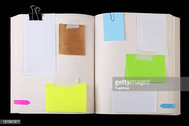 Assorted Scrap Papers
