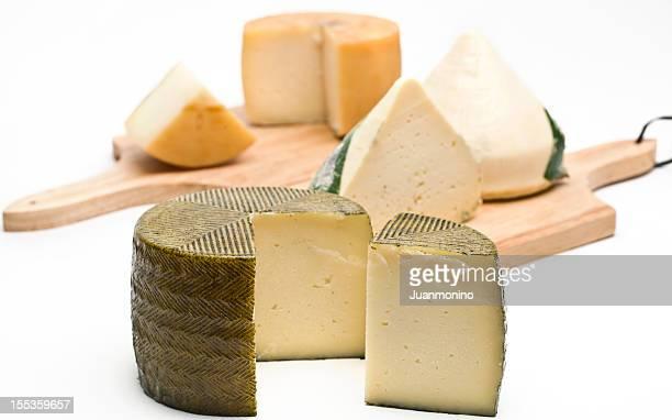 Una variedad de quesos españoles
