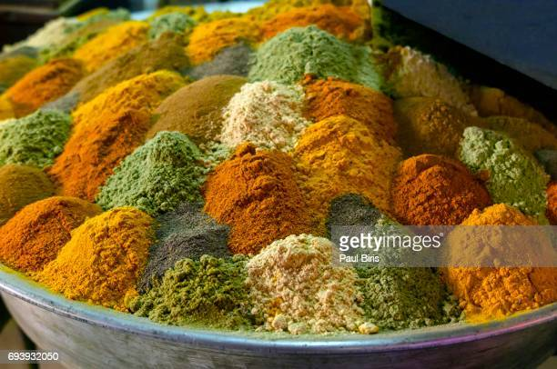 Assorted spices, Isfahan Market, Iran