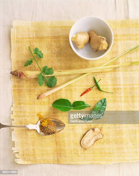 Assorted Thai flavors