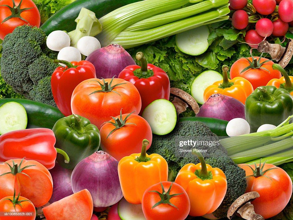 Assorted vegetables (Digital Composite) : Foto stock