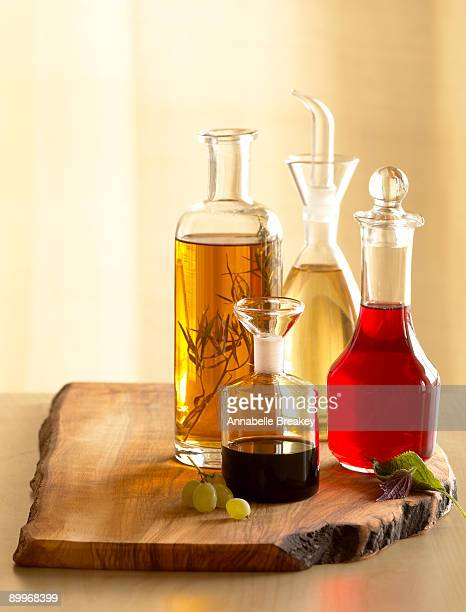 Assorted vinegars