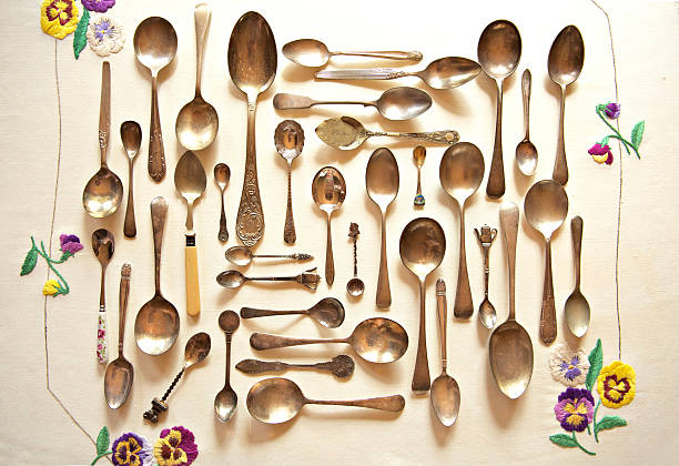 Assorted vintage spoons