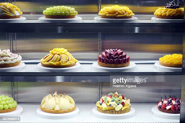 Assorted whole cakes