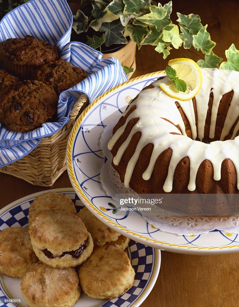 Assortment of baked goods : Stock Photo