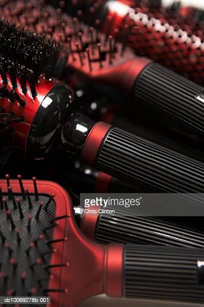 Assortment of hairbrushes