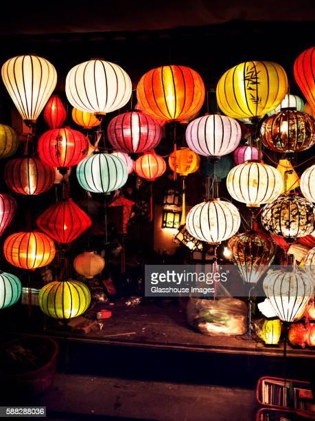 Vietnam Lantern Girl Printable Photograph Digital download