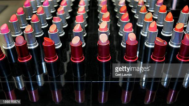 Assortment of lipsticks