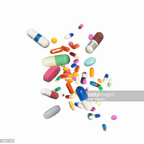 assortment of medications - pills stock pictures, royalty-free photos & images