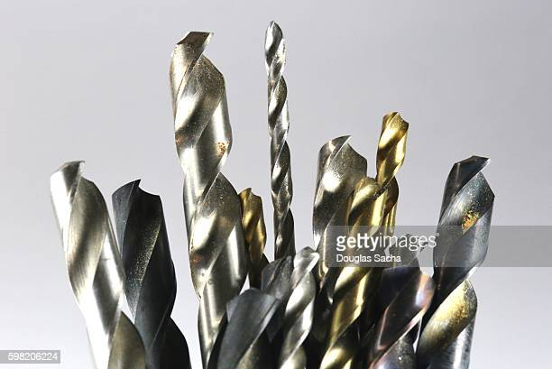 Assortment of metal cutting drill bits