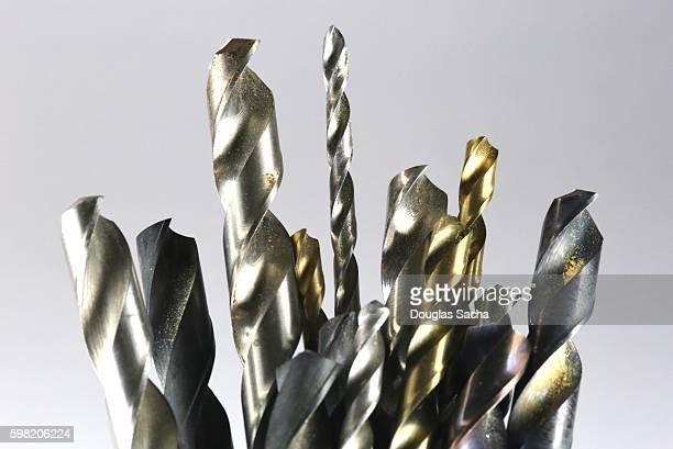Assortment of metal cutting drill bits
