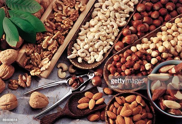 Variedade de nuts