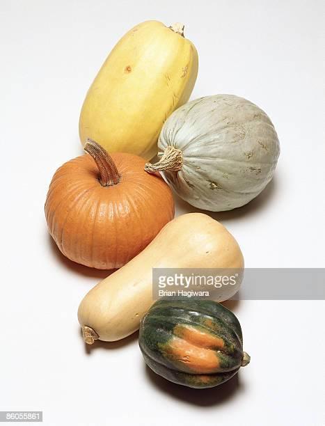 Assortment of squash