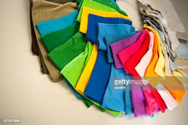 assortment of t-shirts