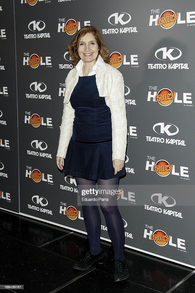 Assumpta Serna attends 'The crazy hole' premiere photocall at Kapital theatre on May 9, 2013 in Madrid, Spain.