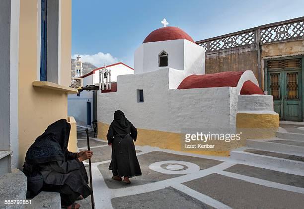 Assumption day, Olympos, Karpathos Island, Greece