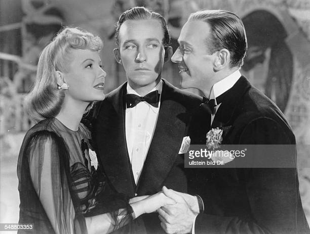 Astaire Fred Actor USA *10051899 Scene from the movie 'Holiday Inn' with Bing Crosby and Majorie Reynolds Directed by Mark Sandrich USA 1942 Film...