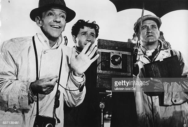 Astaire Fred Dancer singer actor USA Scene from the movie 'Funny Face'' Directed by Stanley Donen USA 1957 Produced by Paramount Pictures Vintage...