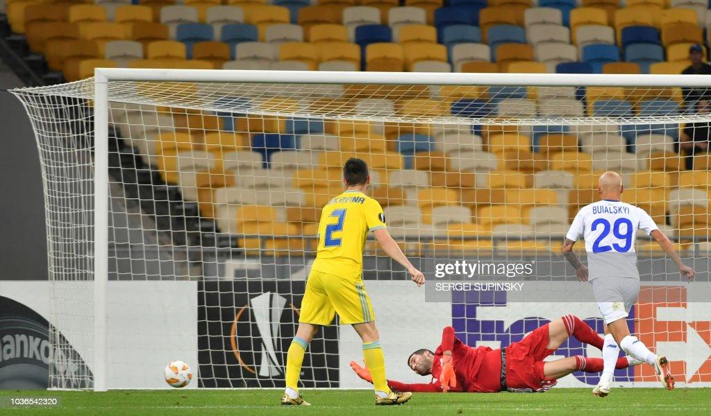 Dynamo Kyiv v FC Astana - UEFA Europa League