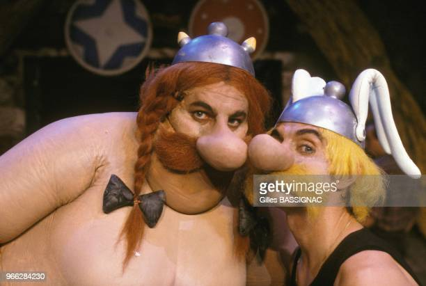 'Asterix' show by director Jerome Savary at Cirque d'Hiver on September 28 1988 in Paris France