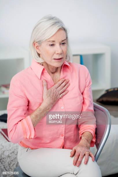 asthma, elderly person - copd stock photos and pictures