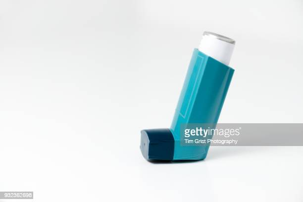 asthma inhaler - respiratory machine stock photos and pictures