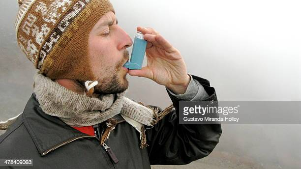 asthma - asthmatic stock photos and pictures