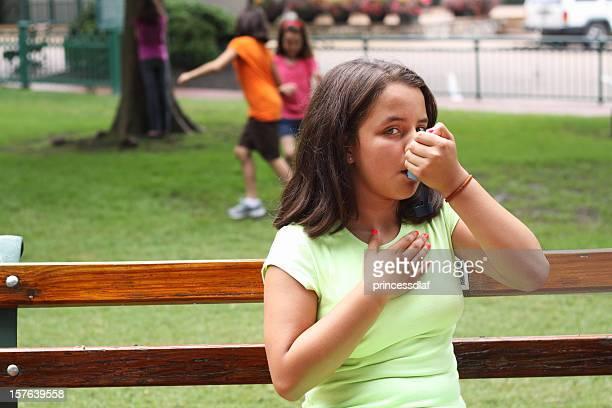 Asthmatic Preteen