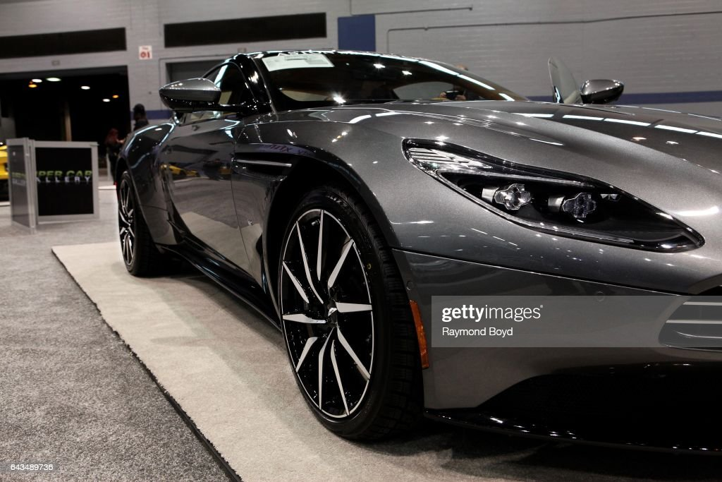 Chicago Auto Show Media Preview Day Pictures Getty Images - Aston martin chicago