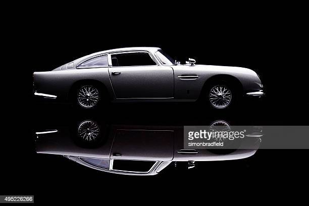Aston Martin DB5 Model Low Key Side View
