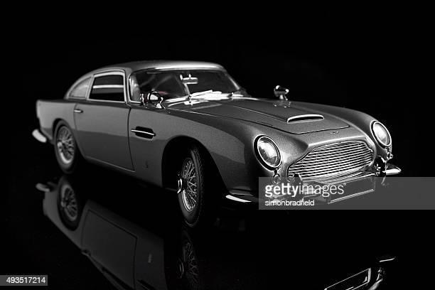Aston Martin DB5 Model On Black