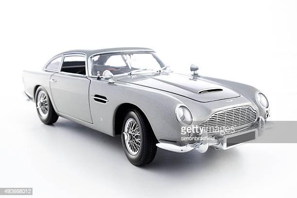 Aston Martin DB5 Model On White