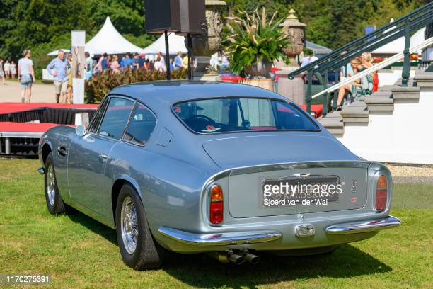 Aston Martin DB6 on display at the 2019 Concours d'Elegance at palace Soestdijk on August 25 2019 in Baarn Netherlands This is the first time the...