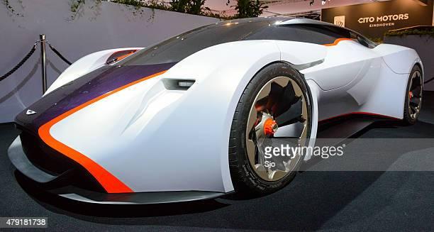 Aston Martin DP-100 Vision Gran Turismo concept car