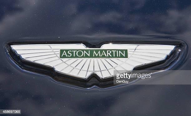 Aston Martin Hood Ornament Close Up