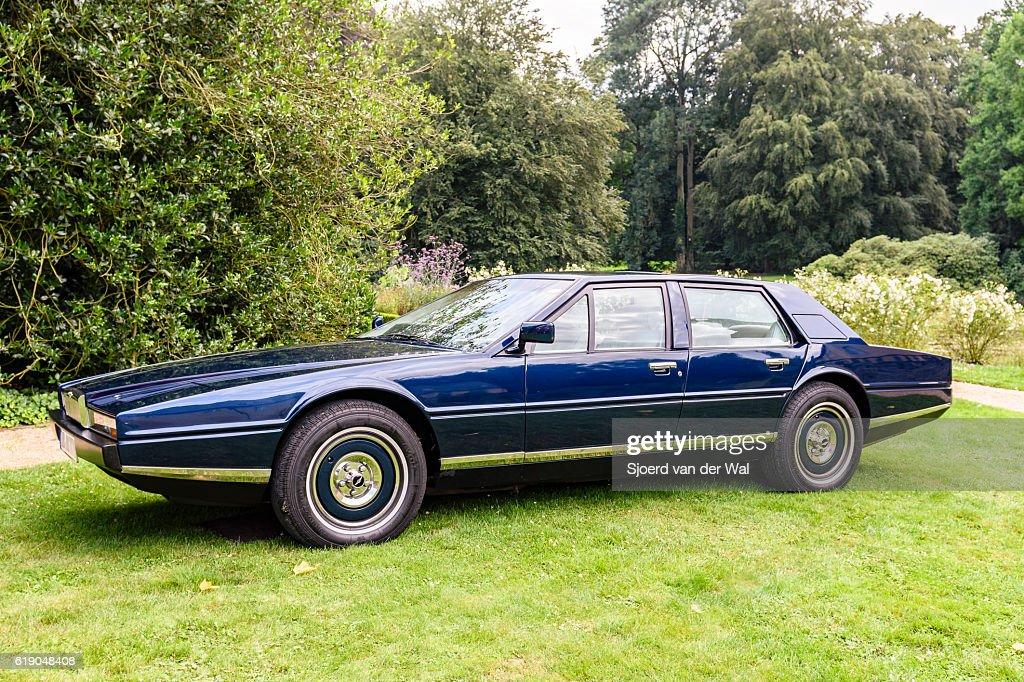 Aston Martin Lagonda Luxury Fourdoor Saloon High Res Stock Photo Getty Images