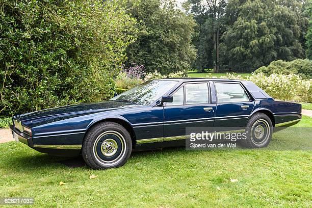 "aston martin lagonda luxury four-door saloon - ""sjoerd van der wal"" stock pictures, royalty-free photos & images"