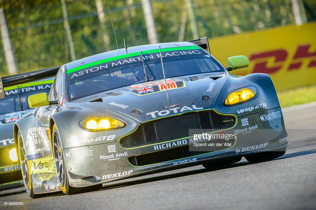 Aston Martin Racing Aston Martin Vantage V8 Race Cars Stock Photo ...