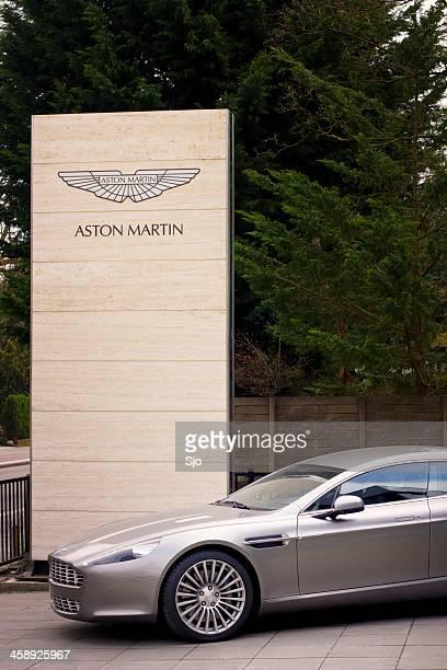 Aston Martin Rapide luxury saloon car