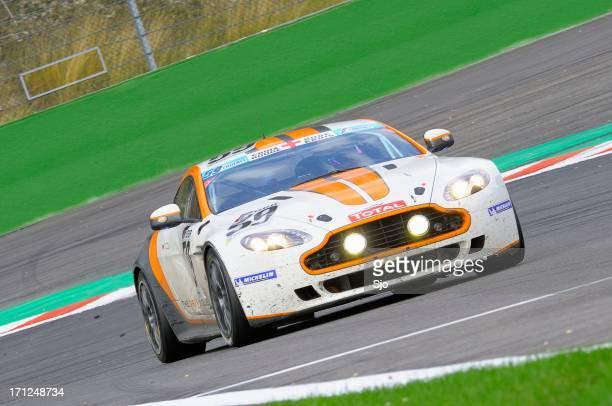 Aston Martin V8 Vantage GT4 race car