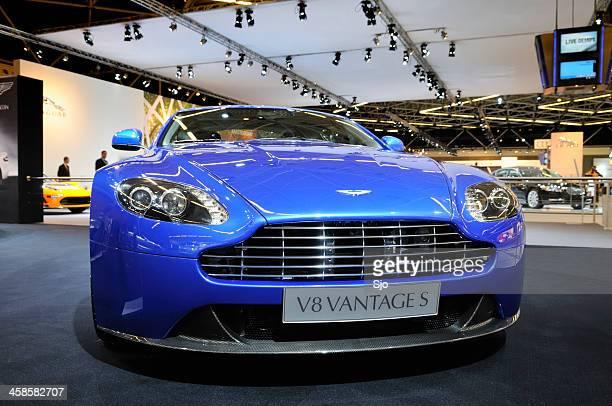 Aston Martin V8 Vantage sports car front view