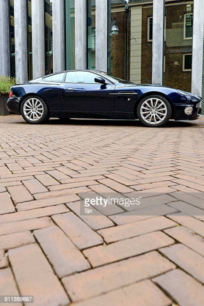 aston martin vanquish - aston martin vanquish stock photos and pictures